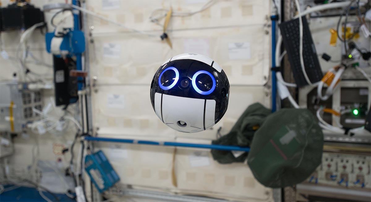 Nuevo Robot Fotógrafo en la Estación Espacial